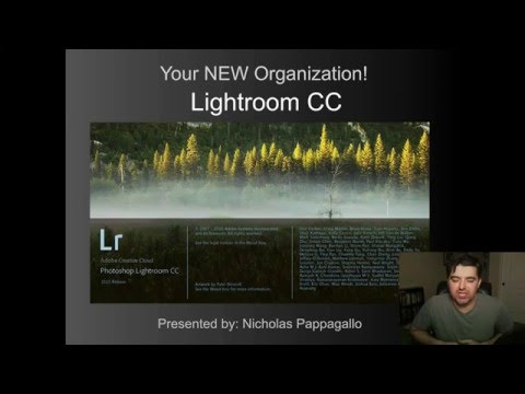 Lightroom CC & 6 Organization