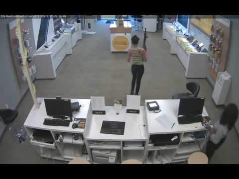 Woman armed with assault rifle robs Sprint store in west Fayetteville
