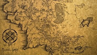 Timelapse Drawing of Middle Earth