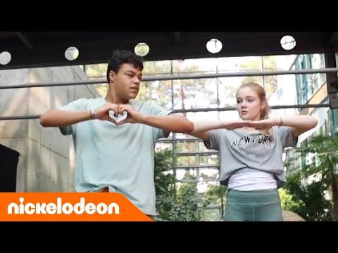 Tanztutorial mit Chiara & Malcom (Greta & Rocco) | Spotlight BTS | Nickelodeon Deutschland