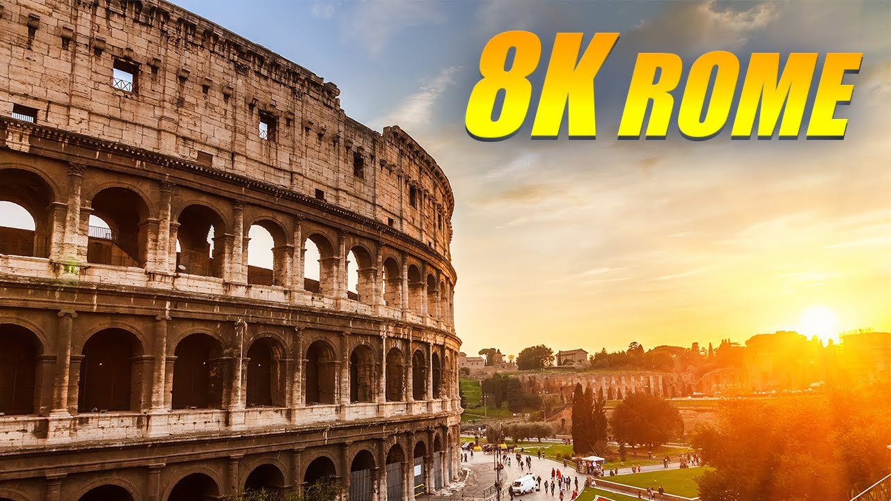 Rome, Italy 8K HDR 60FPS DEMO