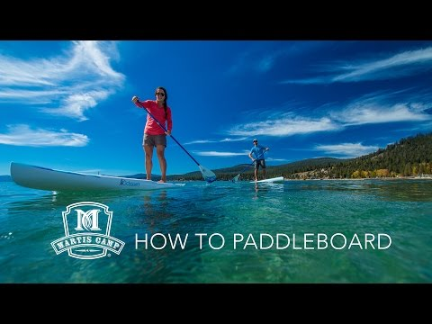 How to Paddleboard - Basic Stand Up Paddleboarding Tips