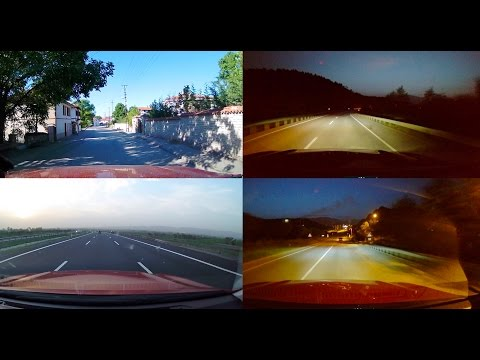 Garmin Dash Cam 55 Test In Various Light Conditions