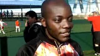 Football League - Representative of Congo FC - Albert Kalombe …