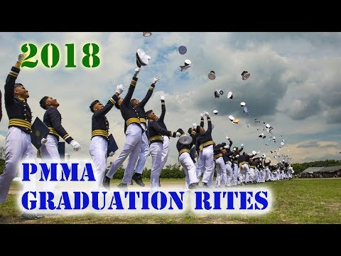 PMMA Graduation Rites 2018 | Cadets of Philippine Merchant Marine Academy