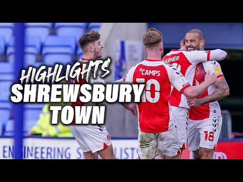 Shrewsbury Fleetwood Town Goals And Highlights
