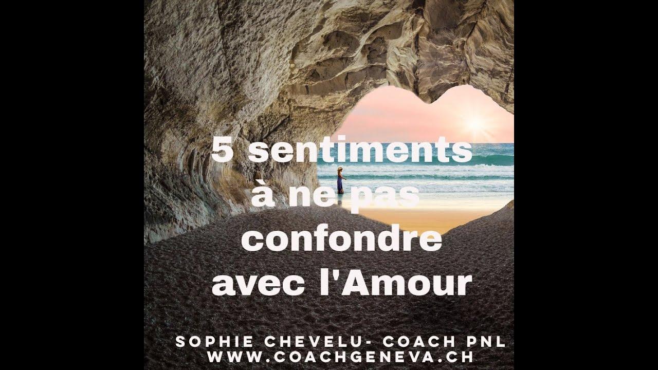 Vidéo : 5 sentiments à ne pas confondre avec l'amour