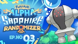 THE LEGENDARY ROUTE! | Pokémon Omega Ruby & Alpha Sapphire Randomizer Nuzlocke - Episode 03