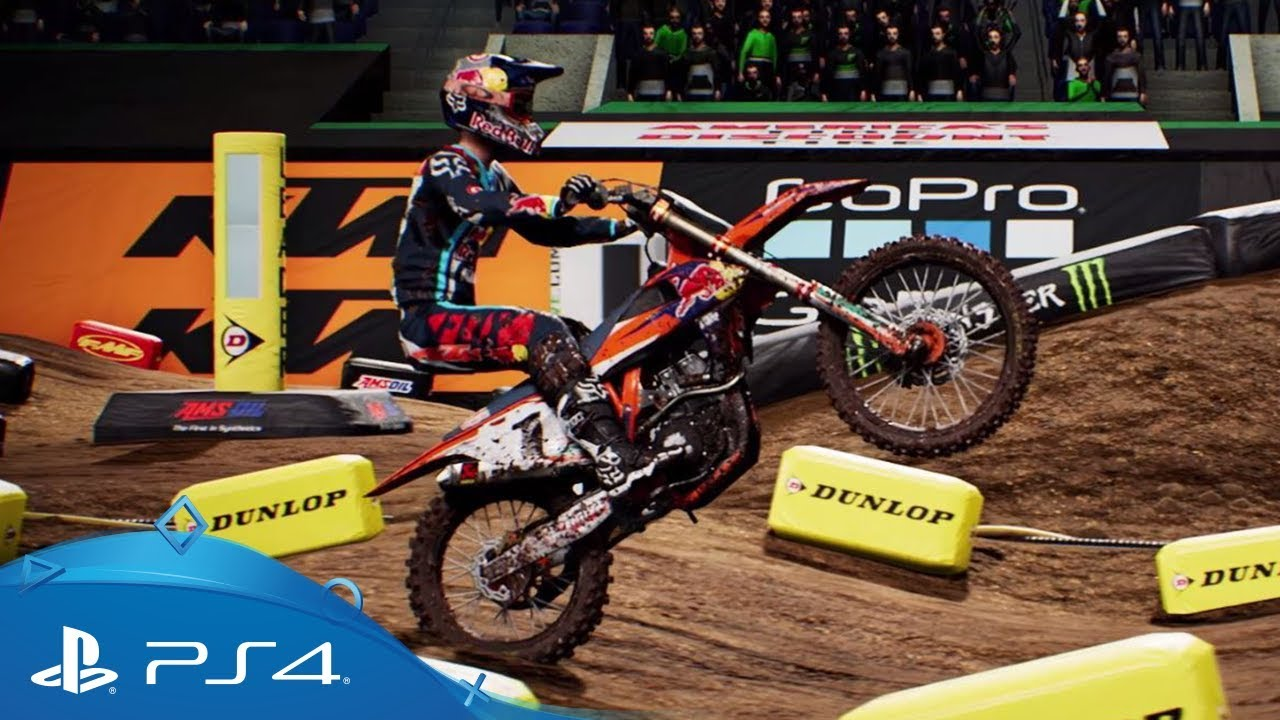 monster energy supercross the official videogame. Black Bedroom Furniture Sets. Home Design Ideas