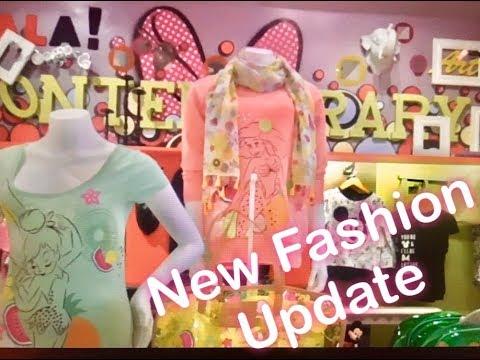 Disney Fashion Shop Disneyland Paris Update April 2018 Disney Village Minnie and the Girls