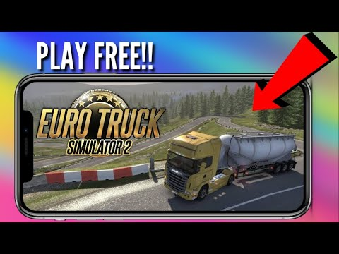How To Download And Play Euro Truck Driving Simulator 2. On Android. For Free.