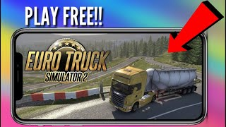 Download lagu How to Download And Play Euro Truck Driving Simulator 2. On android. For Free.