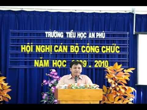Dai hoi cong nhan vien chuc truong Tieu hoc An Phu 09 10