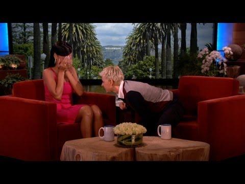 Ellen Talks to Rihanna's 'Her'