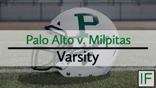 Paly Sports: Palo Alto v. Milpitas - Varsity