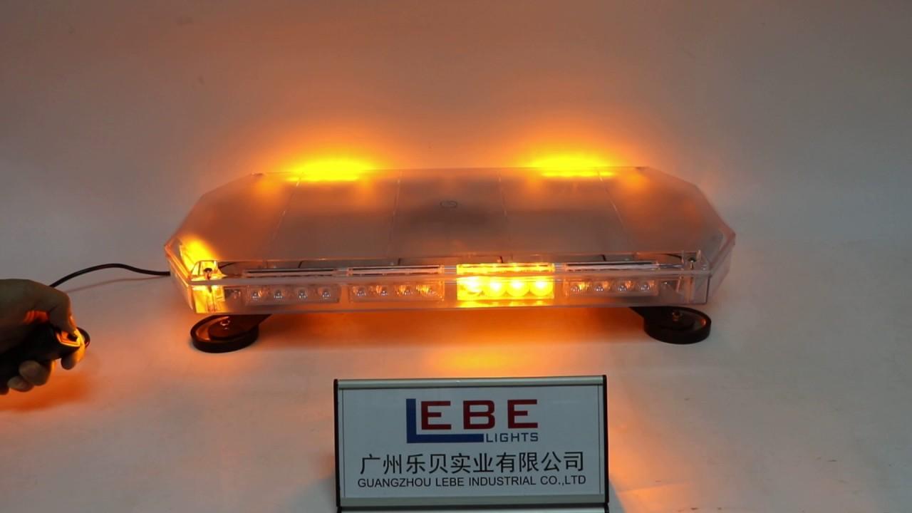 Lb821 amber led mini lightbar led warning light youtube lb821 amber led mini lightbar led warning light publicscrutiny Image collections