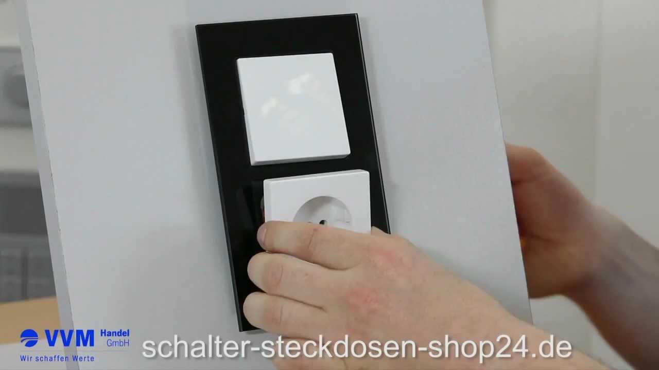 Schalter Steckdosen Shop24 : wechselschalter anschlie en schalterwechsel leicht gemacht youtube ~ Buech-reservation.com Haus und Dekorationen