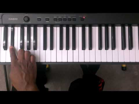 Major Scales: How to play E Flat Major Scale (Two Octaves) on Piano (Right and Left Hand)