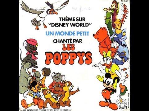 Les Poppys / Les Petits Chanteurs d'Asnières - Notres Monde Est Tout Petit