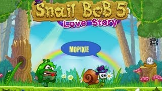 Online Adventure Games Snail Bob 5 Love Story