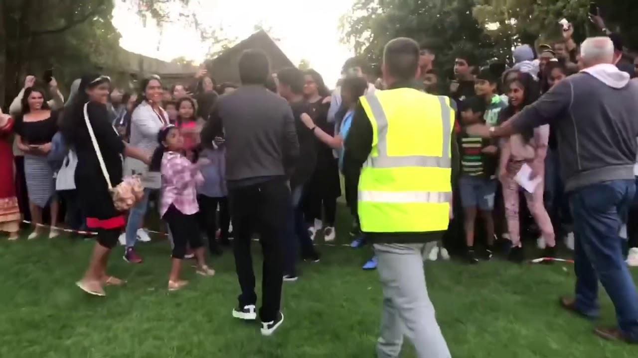 Dhanush Mass Response in London | D40 Shooting Spot