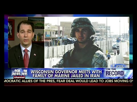 Scott Walker Speaks In Support Of Amir Hekmati, The Former U.S. Marine Jailed In Iran