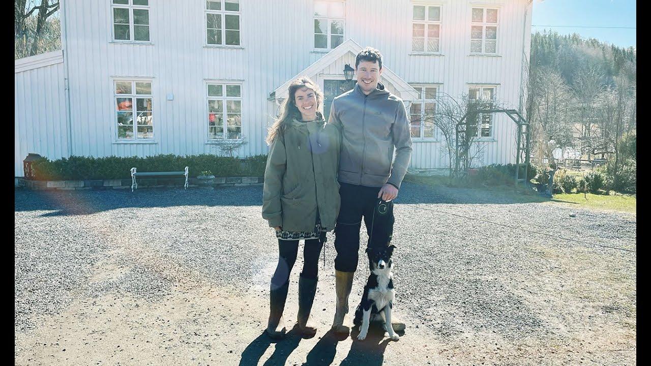 Lyden av sekkepipe på Prestegården i Froland