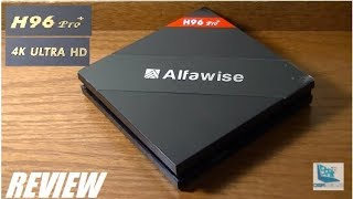 ÖVERSIKT: Alfawise H96 Pro + Android TV-box (3GB RAM)