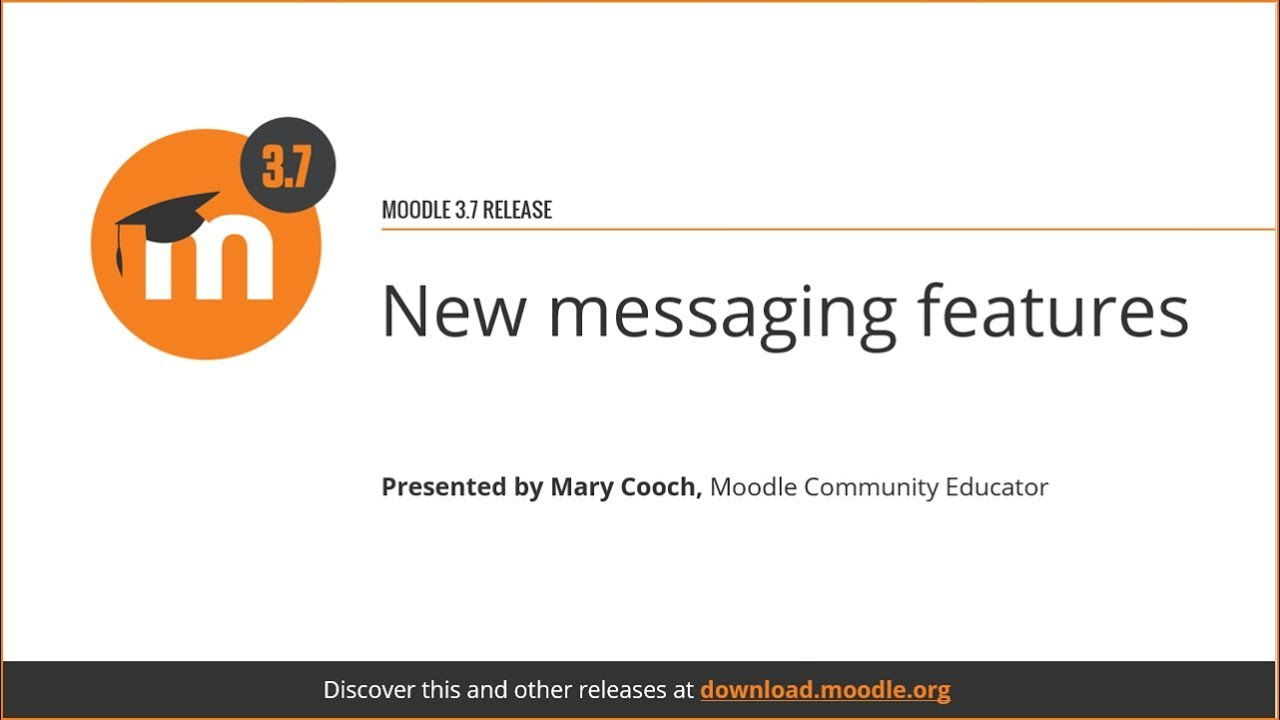Messaging - MoodleDocs