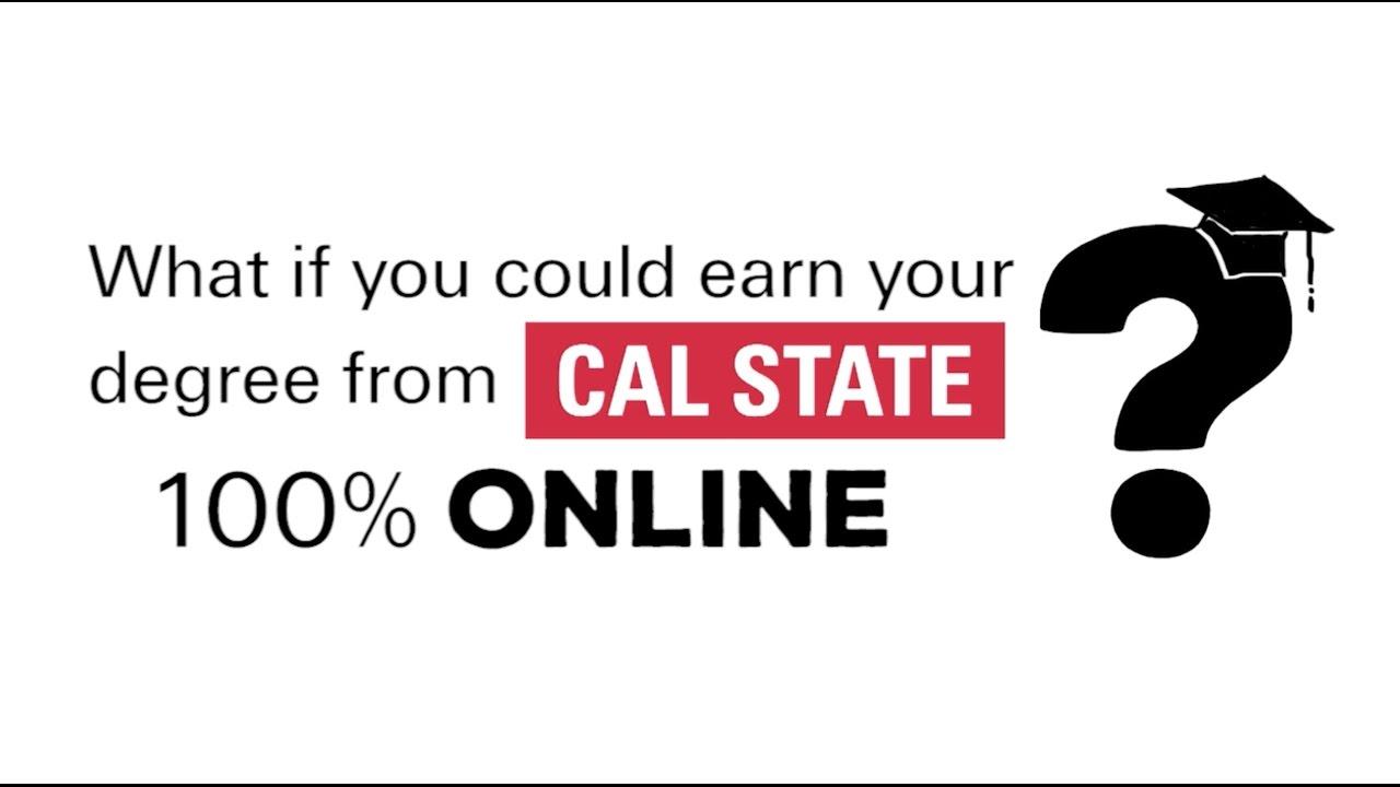 Cal State Online Degree Programs