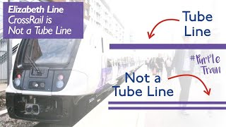 Crossrail's Elizabeth Line will appear in full on the Tube map by t...