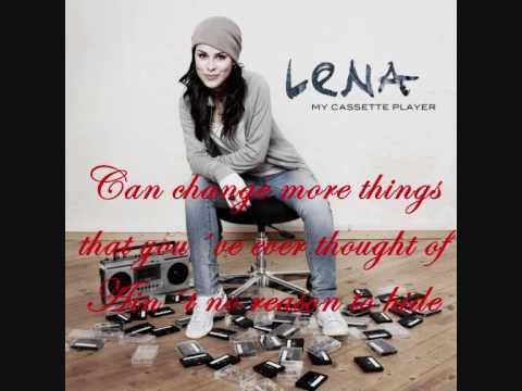 Lena Meyer-Landrut - Touch A New Day (Lyrics)