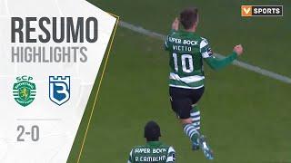 Highlights   Resumo: Sporting 2-0 Belenenses (Liga 19/20 #11)