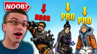 So I got carried by Pro Players in Apex Legends...