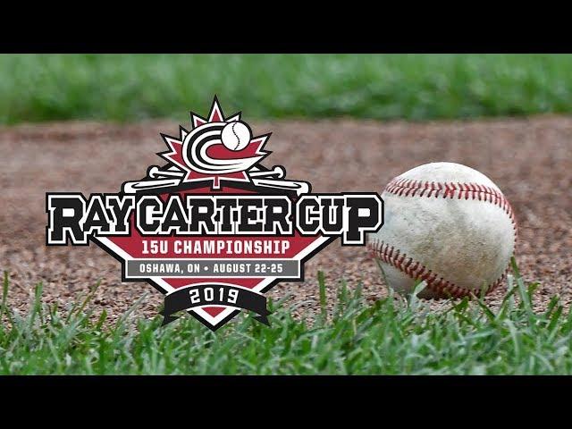 2019 Baseball Canada 15U Boys Ray Carter Cup Championship   NS vs NL   Aug. 22