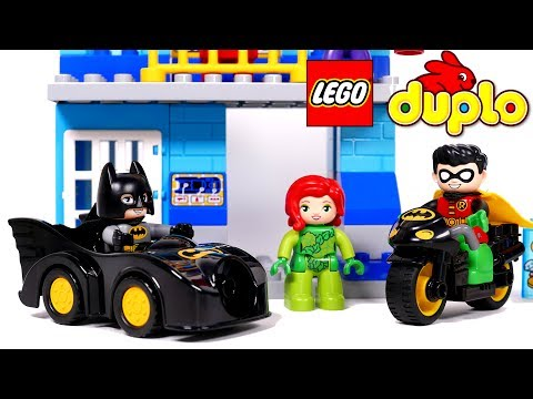 Lego Duplo Super Heroes Batman Batcave Building Blocks Plays