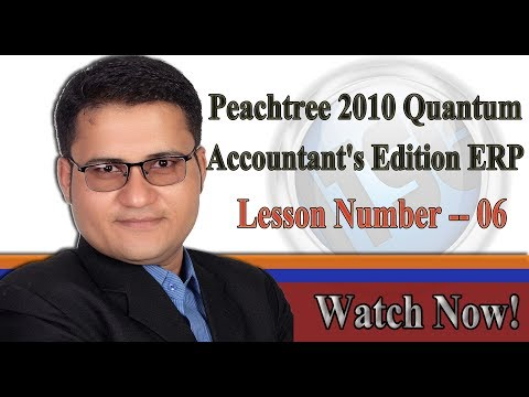 Learn Peachtree in Urdu - L#6 - How to Change Currency Symbol in Peachtree ERP