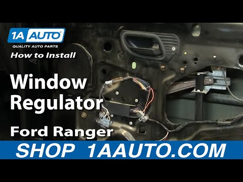 How To Install Replace Window Regulator Ford Ranger 93-10 1AAuto.com