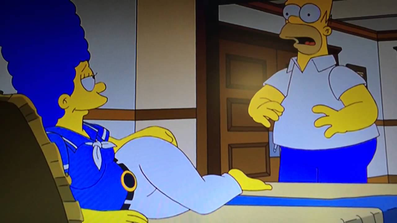 Marge simpson sex scene