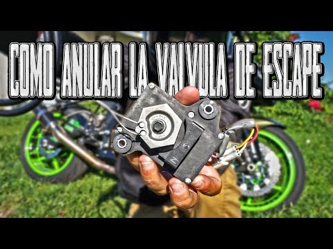 COMO ANULAR LA VÁLVULA DE ESCAPE DE TU MOTO Y/O QUITAR EL SERVOMOTOR