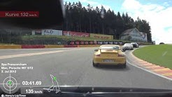 Porsche 911 (997) GT2 onboard Spa-Francorchamps