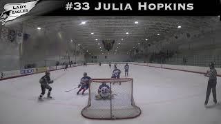 2018-2019 #33 Julia Hopkins GY 2022 Carolina Lady Eagle Highlights