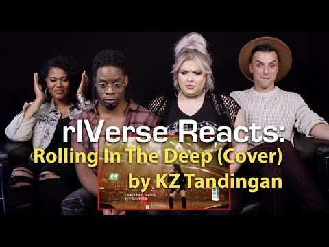 rIVerse Reacts: Rolling In The Deep - Live Performance Cover by KZ Tandingan on