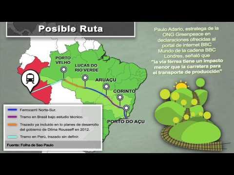 El tren transcontinental que quiere China en Sudamérica