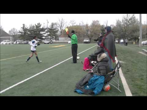 04-10-2016 Classics Eagles U13 Girls Red Team vs. Inferno