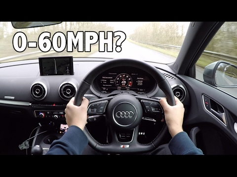 0-60 Test on the 2017 Audi S3 Facelift