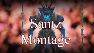 Santz Thresh Montage - Best Thresh Plays edited by Vaysu