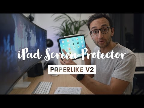 Paperlike V2 - The Best IPad Screen Protector, Now Even Better!