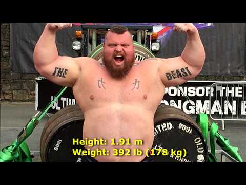 The World's Strongest Man | Eddie Hall 2017 (THE BEAST)