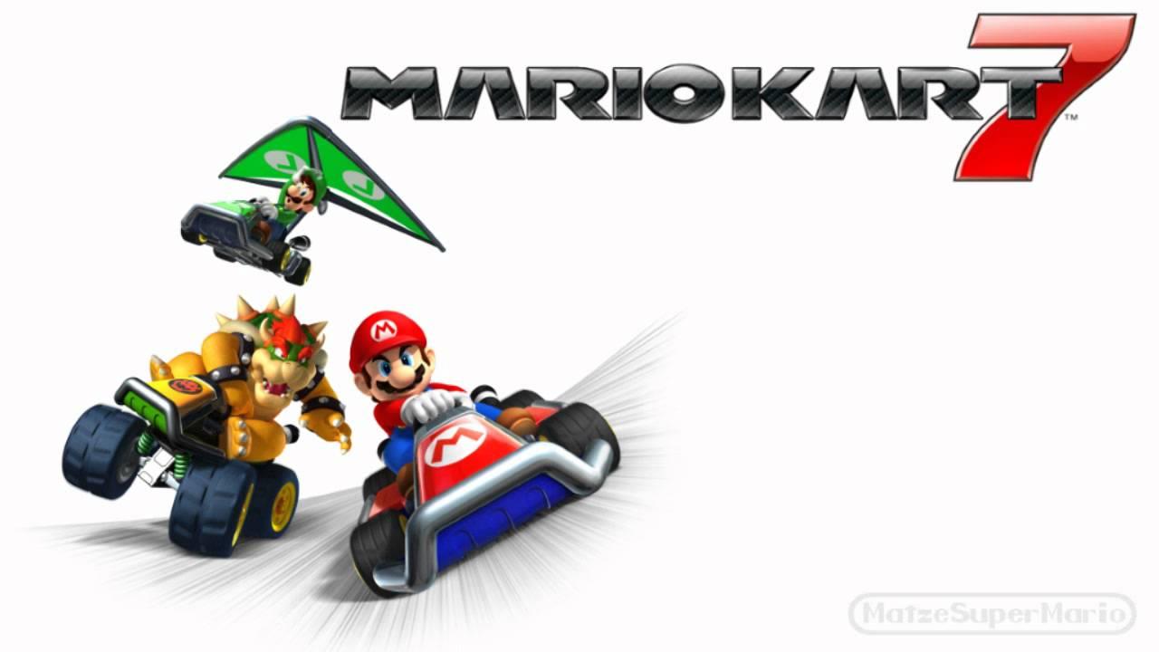 Mario Kart 7 Music Wii Mushroom Gorge Extended Mario Kart 7 Mario Kart Main Theme